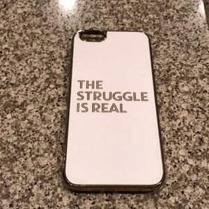Bauble bar the struggle is real phone case iphone6